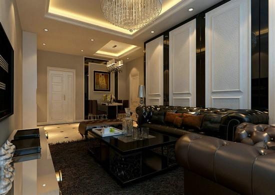 融泽嘉园-一居室-62.00平米-客厅装修效果图