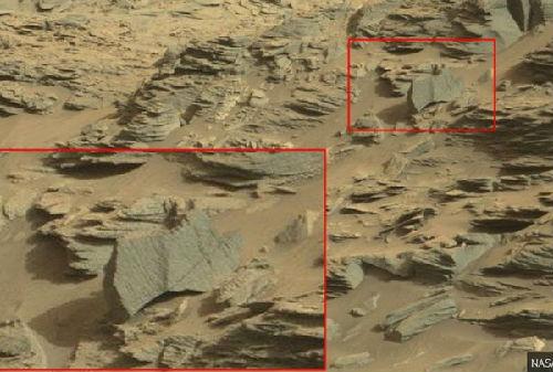"NASA火星照片现""蝎子"" 专家称火星有生命- Micro Reading"