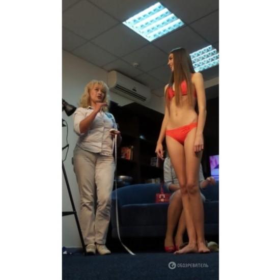 乌克兰最长腿美女身高179腿长113CM组图