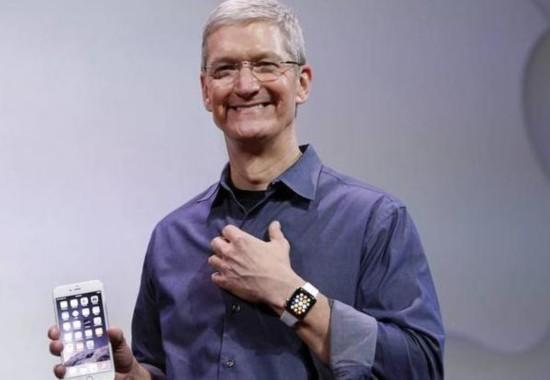 库克什么时候进入苹果