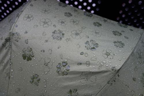 摆脱平庸!日本超赞魔幻伞下雨前后两个样(图)
