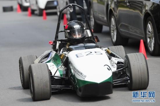 (教育)(1)安徽:大学生自制方程式赛车