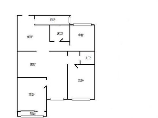 湖景苑-二居室-128.00平米-装修设计
