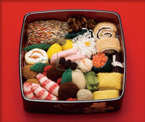 真吃货:日本主妇巧手织美食逼真惹人垂涎(图)