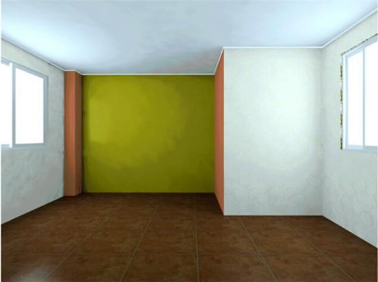 三口之家 装修前后对比图 两居室装修