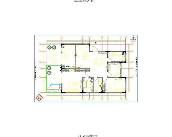 卡尔公寓-二居室-97.00平米-装修设计