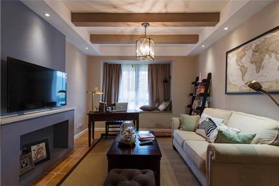 20平米-客厅装修效果图