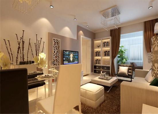 融泽嘉园-二居室-87.00平米-装修设计