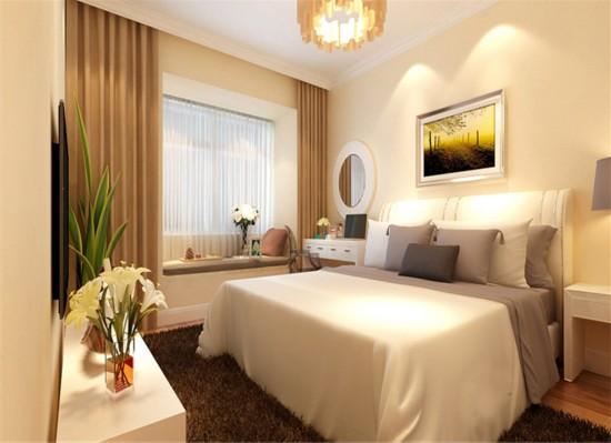 融泽嘉园-二居室-87.00平米-卧室装修效果图
