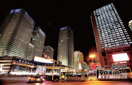 乌鲁木齐夜景亮化融入新疆元素