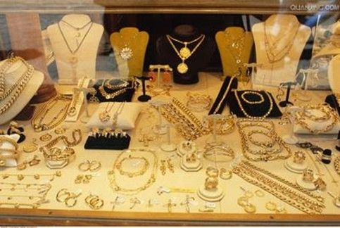 珠宝公司的组织结构图
