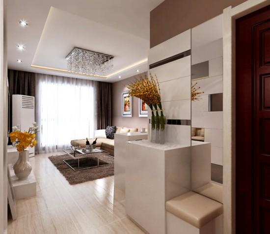 金汉绿港二期国门新城-二居室-95.01平米-装修设计