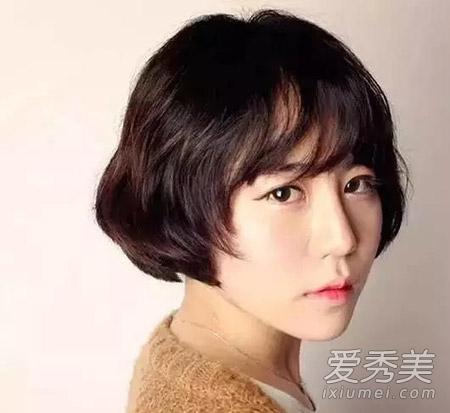 没有搭配好刘海范冰冰高圆圆也变路人--山东频短头发自己修图片