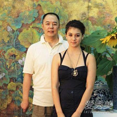 张铁林的女儿是他与英国的前妻所生,是个混血的小美女.图片