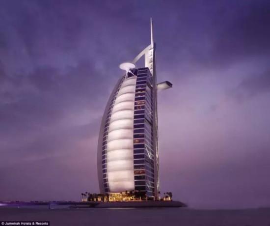 土豪必去:迪拜帆船酒店闪瞎眼