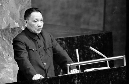 我国哪些领导人曾走进联合国发表讲话