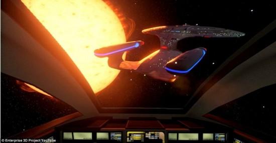 影迷福利:乘坐《星际迷航》企业号飞船完成星际之旅【3】