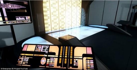 影迷福利:乘坐《星际迷航》企业号飞船完成星际之旅