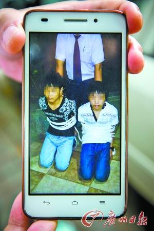 少年砸车盗窃被捆缚跪地律师:可以抓不能罚跪