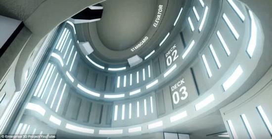影迷福利:乘坐《星际迷航》企业号飞船完成星际之旅【9】