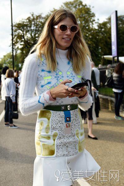 伦敦时装周街拍大放送!抢镜穿搭快GET!