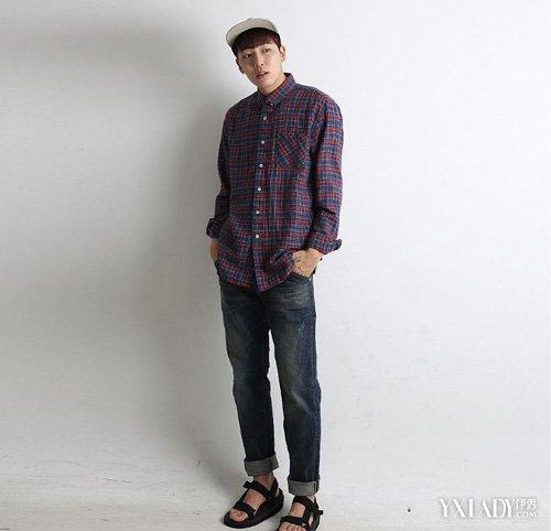 男装衬衫搭配针织衫内容|男装衬衫搭配针织衫版面设计