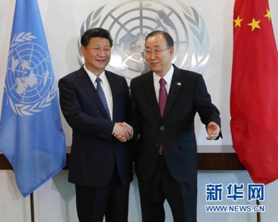 潘基文:中国的全球领导力于本周清晰展现