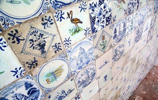 据悉,这些瓷砖每块价值就超过1千英镑(约9700元)。(网页截图)