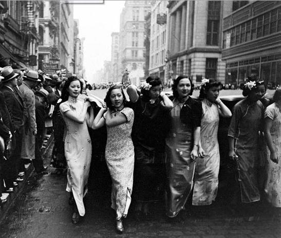 风情万种民国菊花美女美女罕见照惊艳令人(图桶时期旗袍的被图片