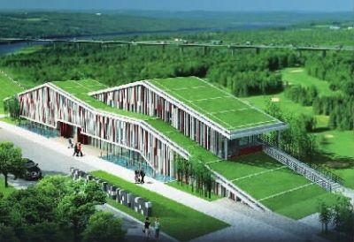 探寻优秀建筑湖南省最美工程勘察设计奖设计师蓝谷图片