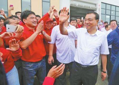 总理调研新郑市孟庄镇农民创业园 关注创业优惠政策落实