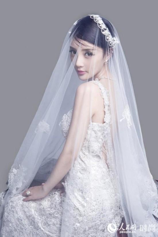 戚薇 我是杜拉拉 黑婚纱引时尚 刘诗诗高圆圆Angelababy 细数女星最