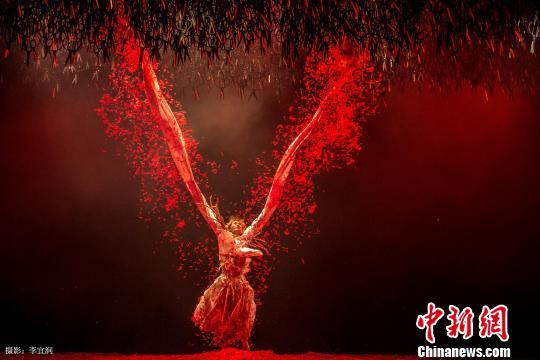 杨丽萍跳舞剧院《十面潜伏》开幕2015国度大剧场跳舞节