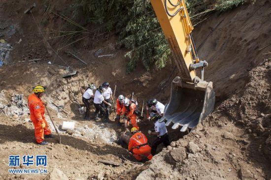 危地马拉泥石流已造成107人死亡