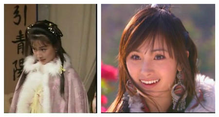 李若彤刘亦菲 同一角色不同演员谁更惊艳
