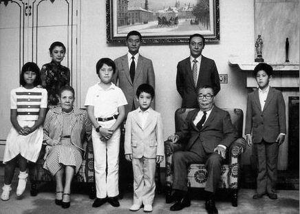 蒋经国家族罕见私房照