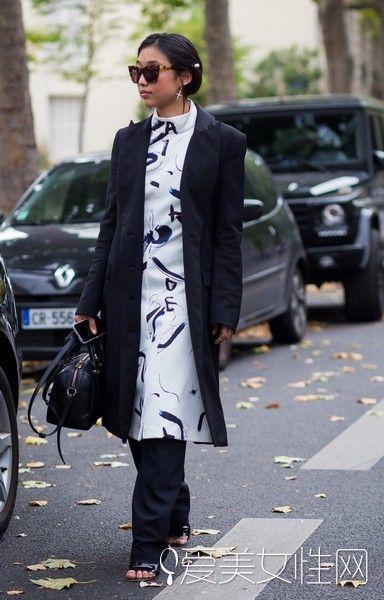 达人示范大衣穿搭美美哒-秒get 保暖大衣有型有范就该这样