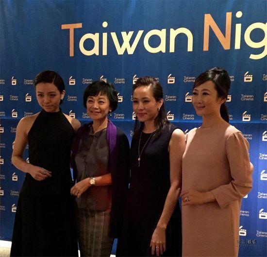 左起:宋芸桦、张艾嘉、林嘉欣、赵涛
