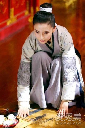《云中歌》angelababy发型披肩完胜赵丽颖?图片欣赏弧形古装发型图片