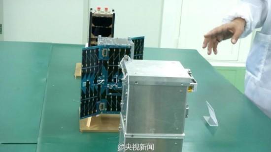 大学生自造卫星 已成功发射