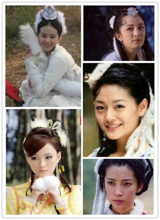 刘诗诗娜扎再美也赢不了范冰冰 古装美女谁最