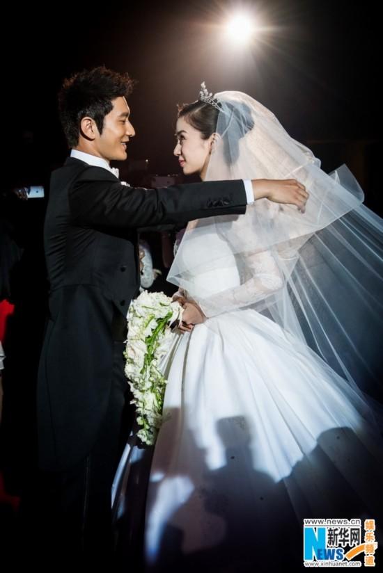 黄晓明baby大婚花2亿 818明星结婚红包多少(图