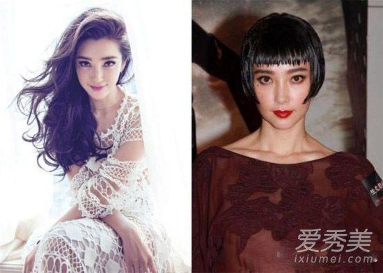 赵丽颖舒淇张馨予 原来她们才是短发最丑的图片