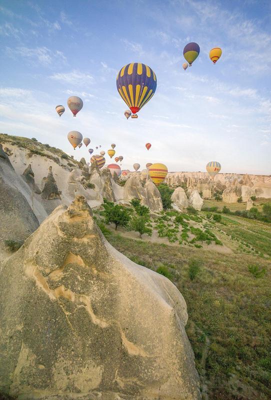 摄影师土耳其体验热气球观光拍美景【8】