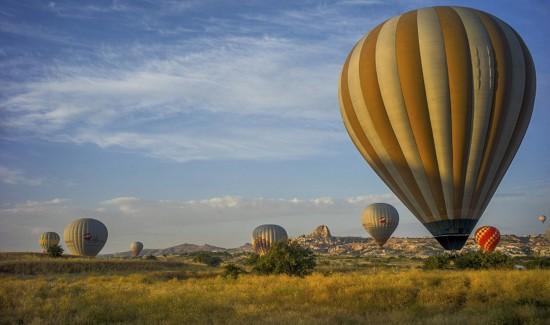 摄影师土耳其体验热气球观光拍美景【9】