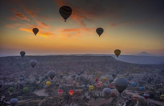 摄影师土耳其体验热气球观光拍美景【5】