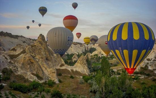 摄影师土耳其体验热气球观光拍美景【14】