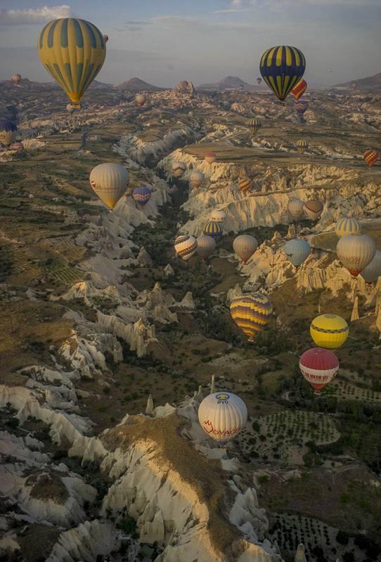摄影师土耳其体验热气球观光拍美景【13】