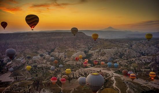摄影师土耳其体验热气球观光拍美景【7】