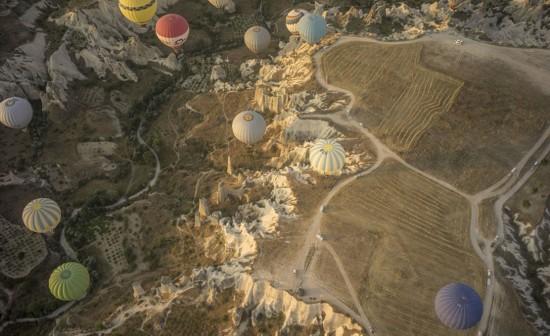 摄影师土耳其体验热气球观光拍美景【11】